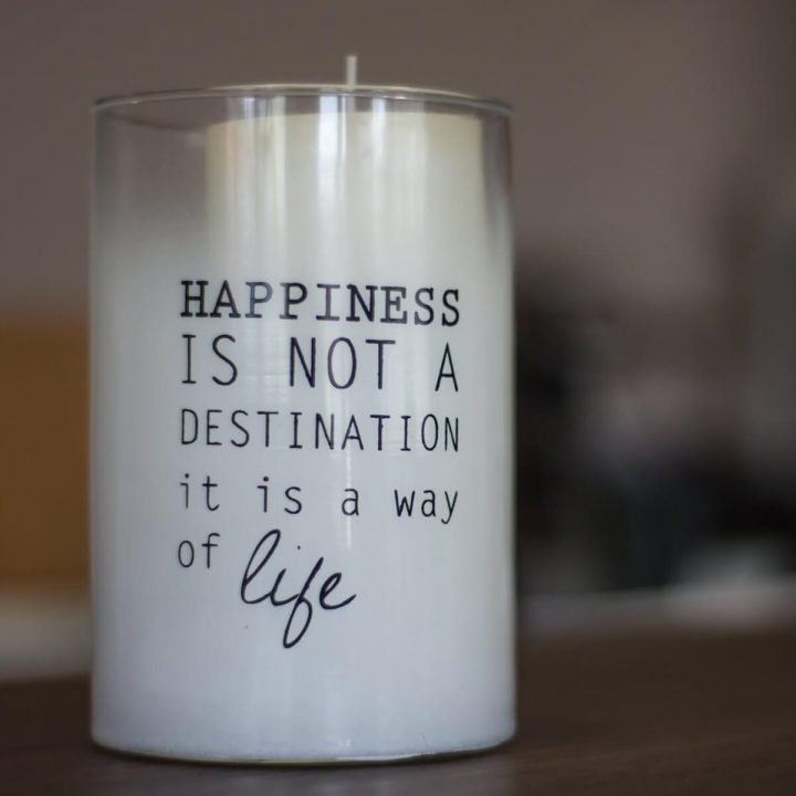 Awesome Quotes happiness is not a destination it is a way of life.
