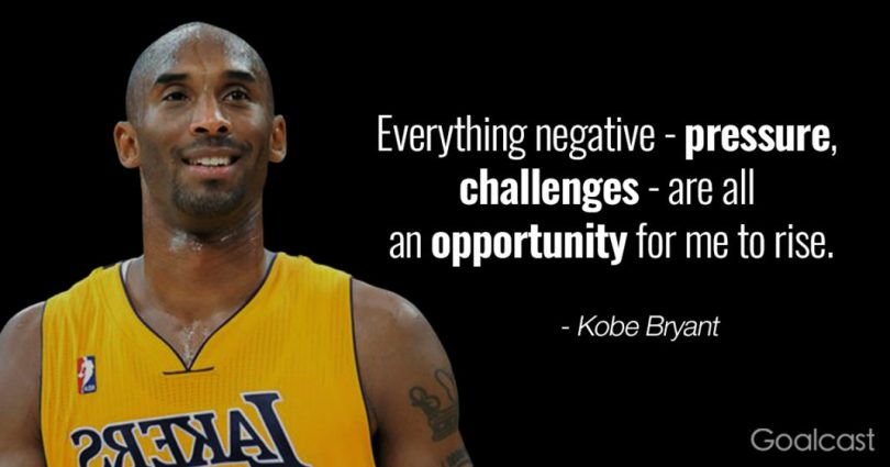 Basketball quotes everything negative pressure, challenges