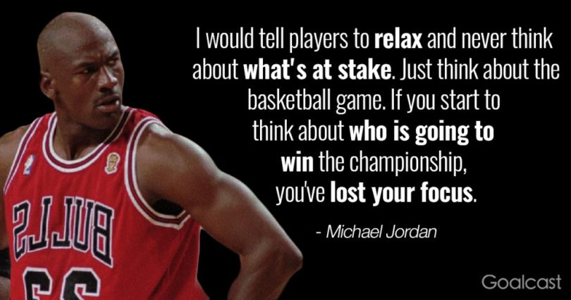 Basketball quotes i would tell playes to relax and never think