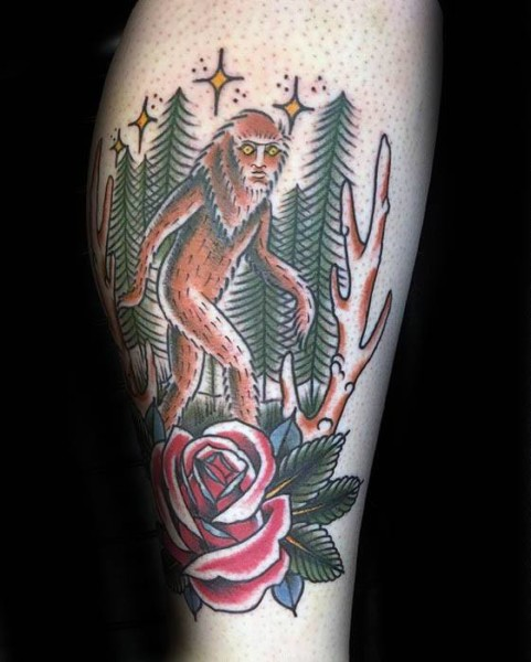 Bigfoot Tattoos 0189