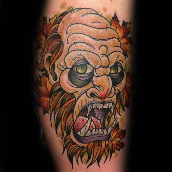 Bigfoot Tattoos 0197