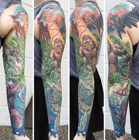 Bigfoot Tattoos 0209