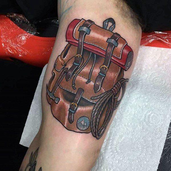 Climbing Tattoos Idea Designs for Tattoos Lover 14