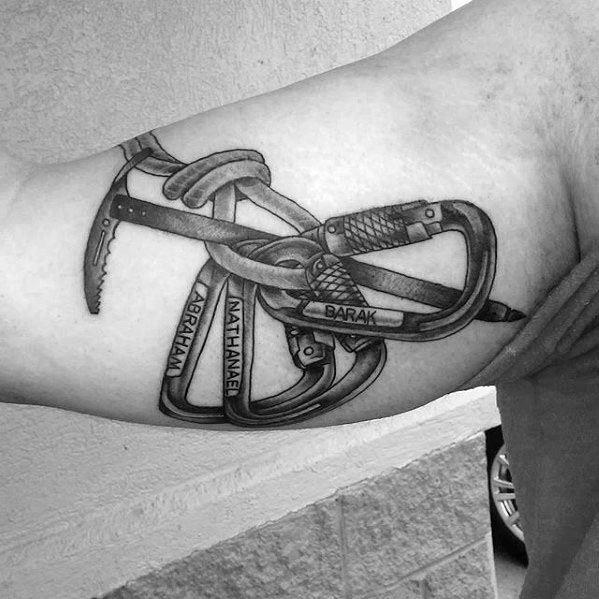 Climbing Tattoos Idea Designs for Tattoos Lover 36