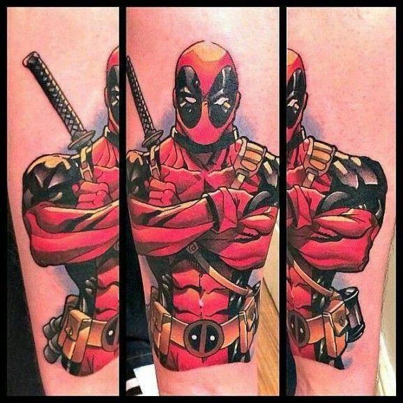 14 Famous Deadpool Tattoos Designs Ideas Picsmine