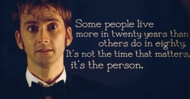 Doctor Who TV Show Quotes