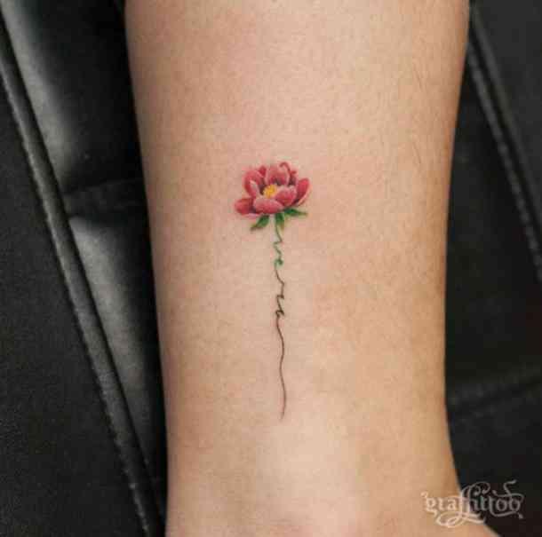 Elegant Flower Tattoos