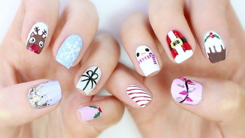 Fabulous Christmas Nail Design
