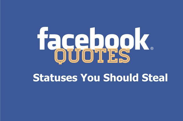 Facebook Quotes 0105