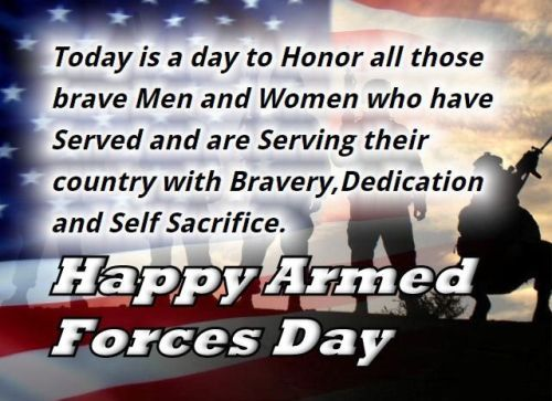 Happy Armed Force Day Wishes 13