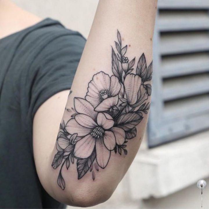 Inspiring Flower Tattoos
