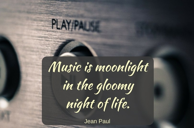 Music Quotes music is moonlight in the