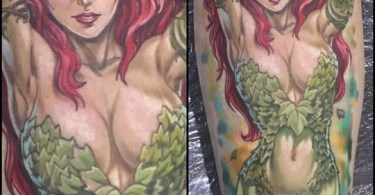 Sexy Geeky Character Tattoos