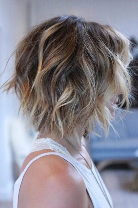 Short Hair Styles Design Idea for Women & Girls 0009
