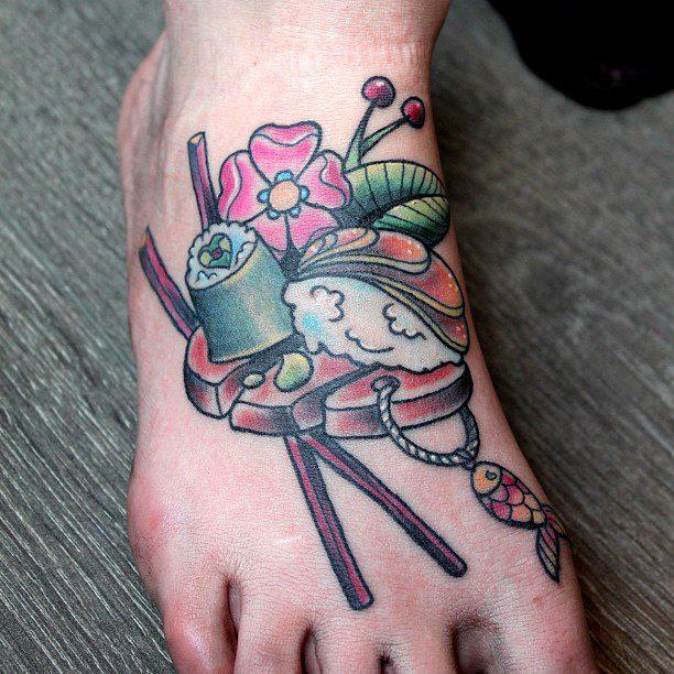 Sushi Tattoos