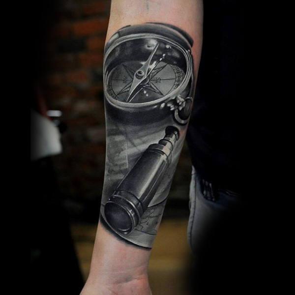 Telescope Tattoos