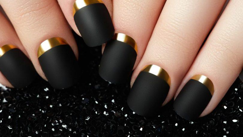 charming nail design