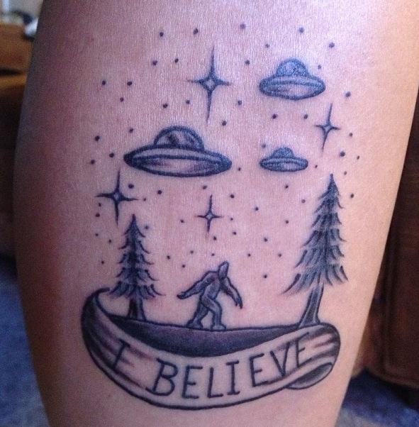 Bigfoot Tattoos