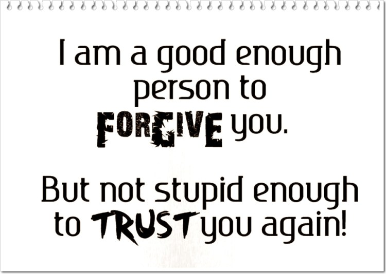 Cheating Quotes & Sayings i am a good enough person to forgive