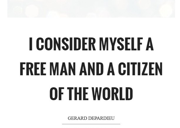 Citizenship quotes, Sayings And Quotations i consider myself a free man and a citizen of the world