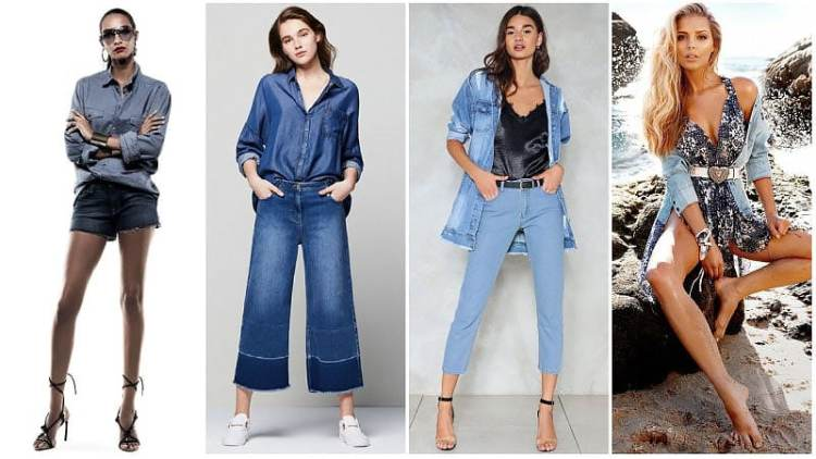 Denim Outfit Styles For Women's 36
