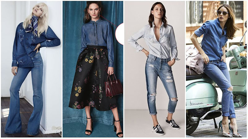 Denim Outfit Styles For Women's 37