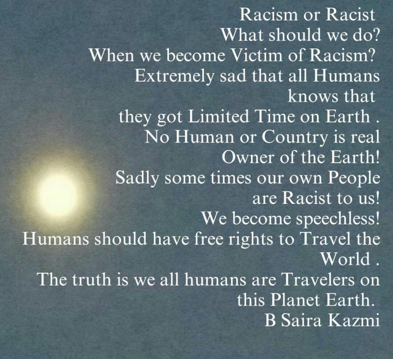 Sad Racism Quotations racism or racist what should we do