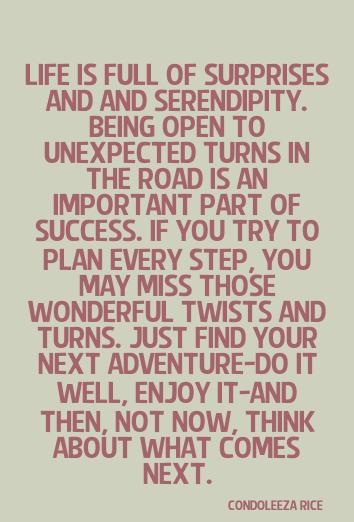 Surprise Quotes life is full of surprises
