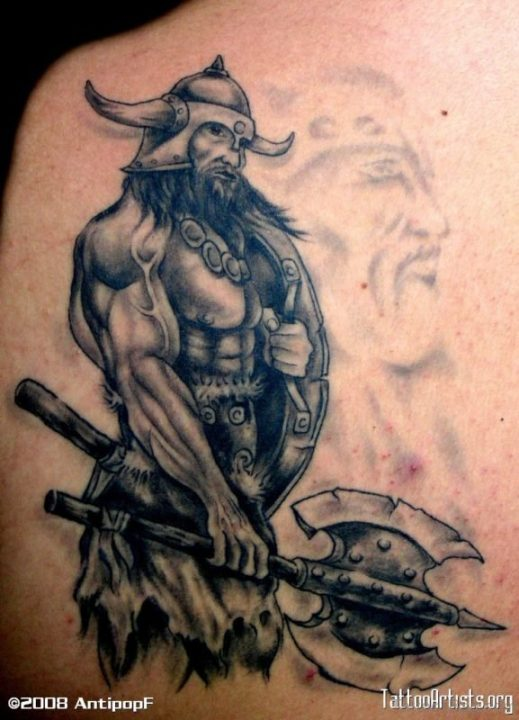 Alluring Back Tattoos For Boy's And Girls 03