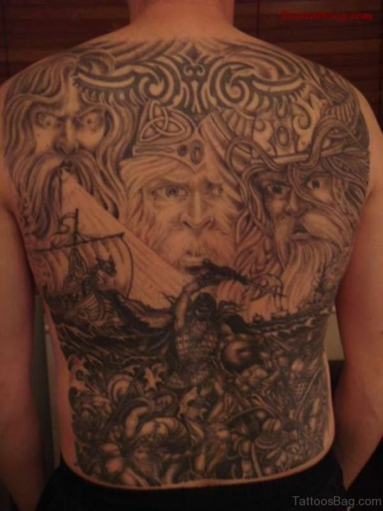 Alluring Back Tattoos For Boy's And Girls 18