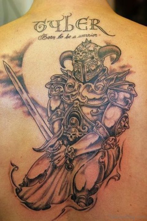 Alluring Back Tattoos For Boy's And Girls 29