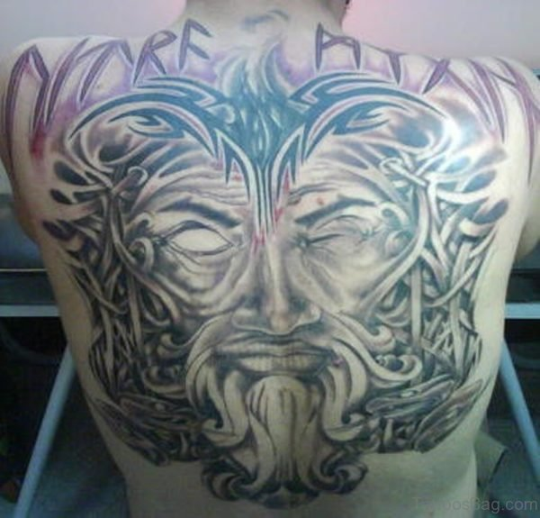 Alluring Back Tattoos For Boy's And Girls 33