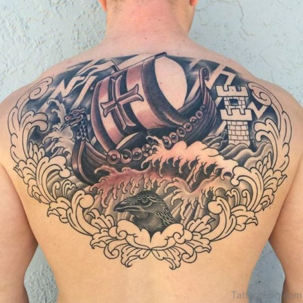 Alluring Back Tattoos For Boy's And Girls 48
