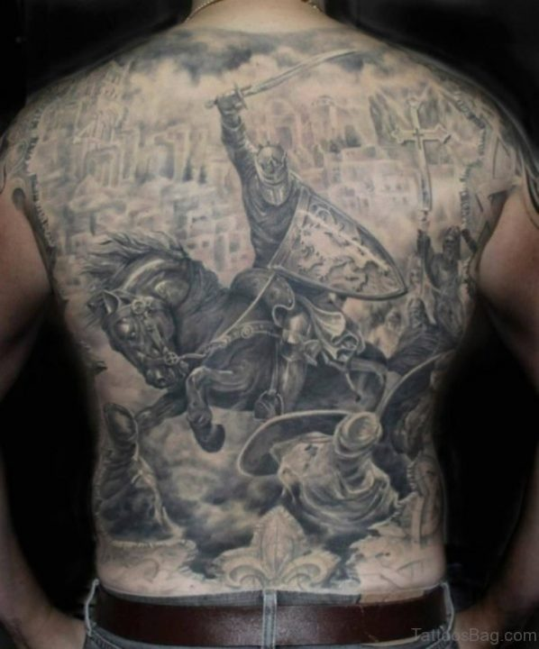 Alluring Back Tattoos For Boy's And Girls 51