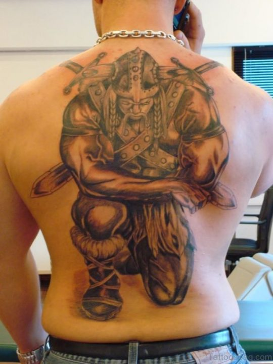 Alluring Back Tattoos For Boy's And Girls 54