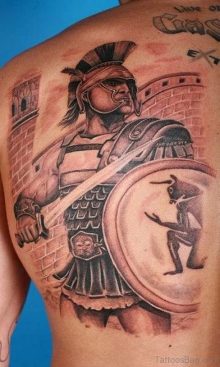 Alluring Back Tattoos For Boy's And Girls 55