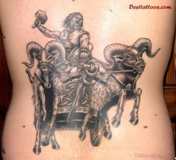 Alluring Back Tattoos For Boy's And Girls 58