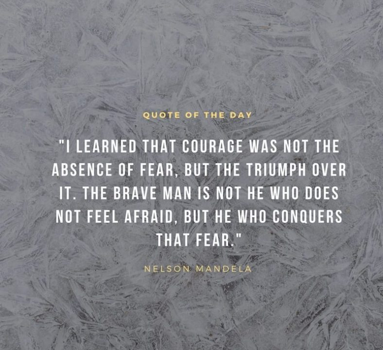 Motivational Success Quotes images i learned that courage was not the