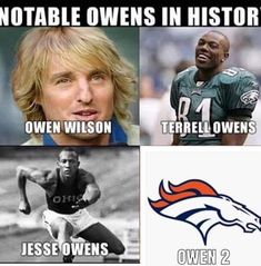 notable owens in histor owen wilson terrell owens jesse owens