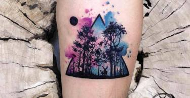 15 Watercolor Tattoos  by Koray Karagozler