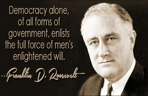 Franklin D Roosevelt Quotes