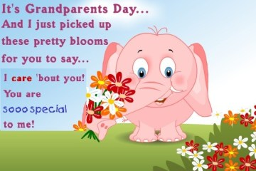 Cool Grandparents Day Greetings Cute Message And Wishes Image