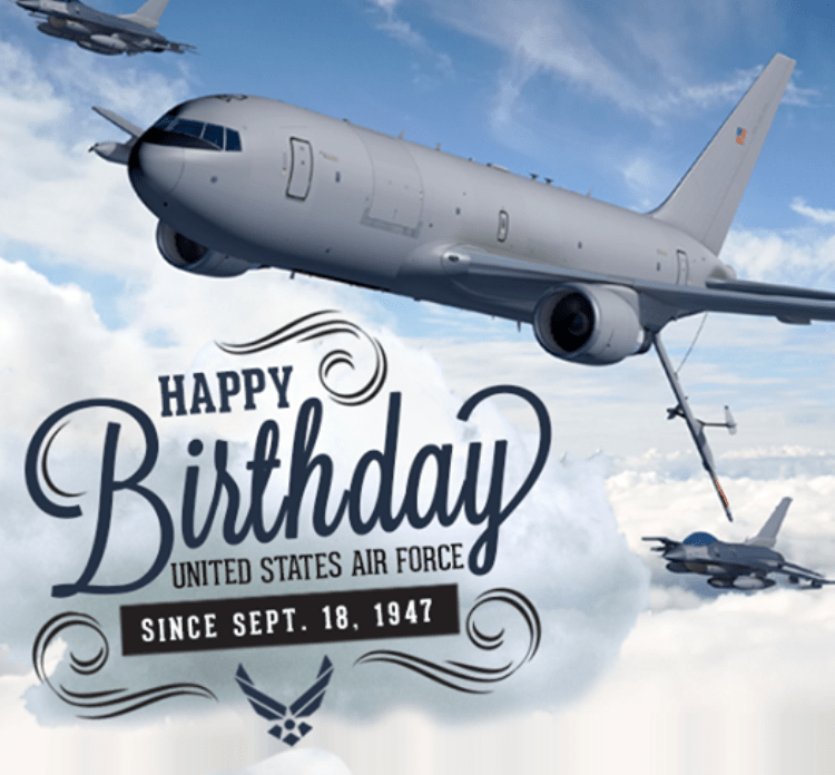 Happy Birthday United States Air Force Since