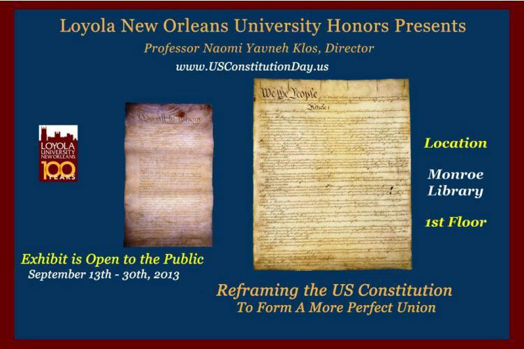 Loyola New Orleans University Honors