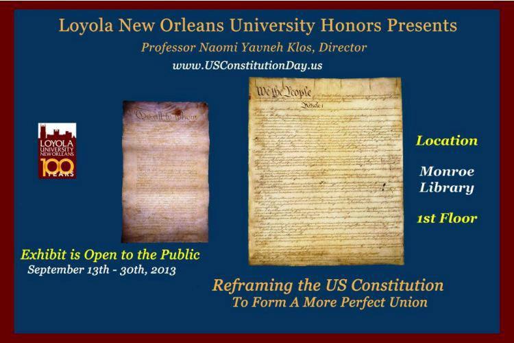 Loyola New Orleans University Honors