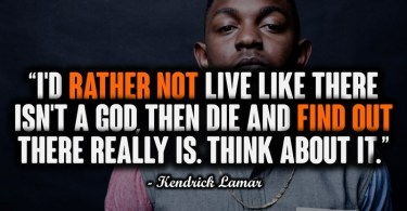 Best Kendrick Lamar Quotes Image