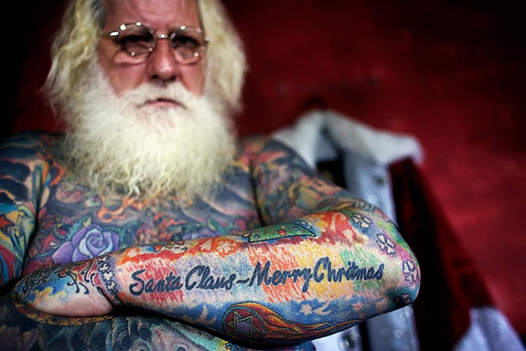 Merry Christmas Tattoos 08