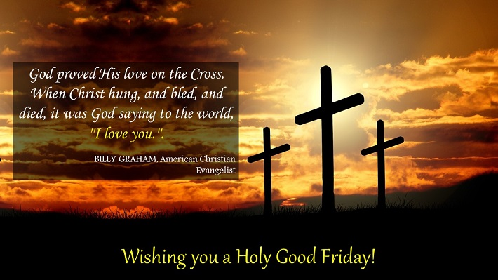 good friday wishes messages god proved his love on the cross.
