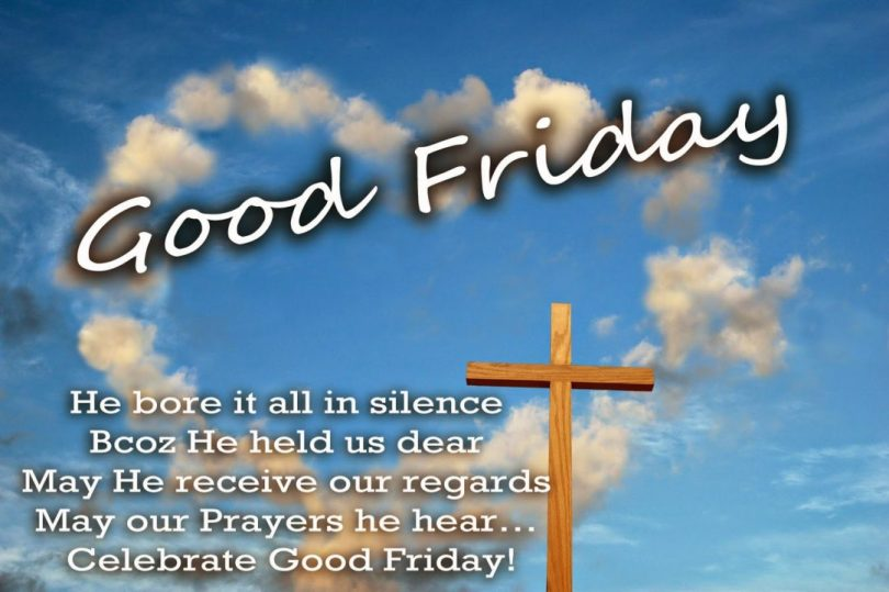 happy good friday wishes good friday he bore it all in silence