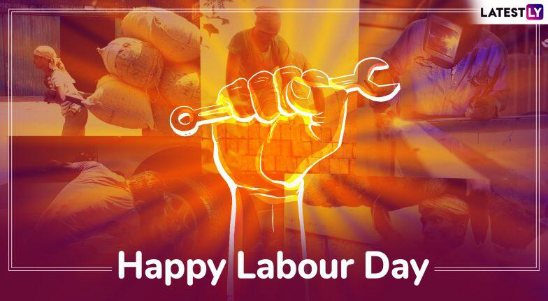 Beautiful Happy Labour day Pic